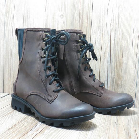 Sorel Phoenix Lace Up Boots Bootie